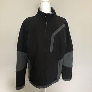 Denali Jacket Mens Fleece Lined Full Zip Black